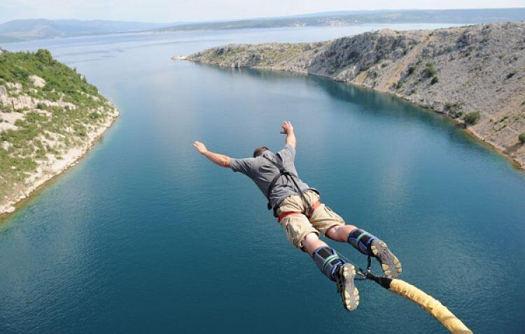Bungee Jumping- tourist activities in Nepal