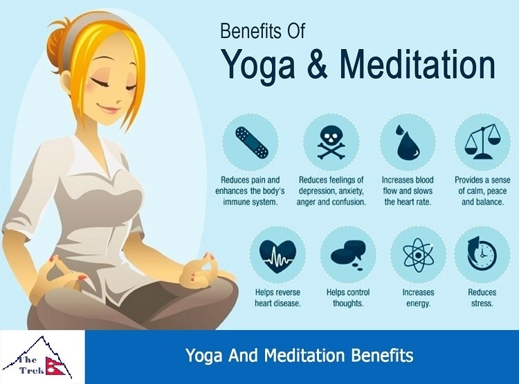 Benefits of Yoga Meditation Trekking