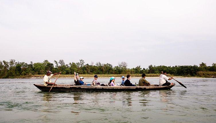Chitwan National Park Canoe Ride