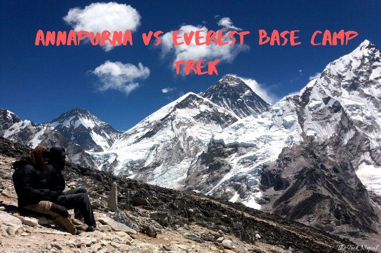 Annapurna Vs Everest Trek
