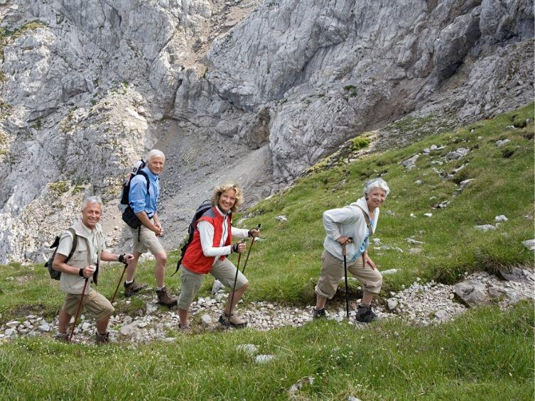 Senior Yoga Trekking