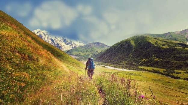 health benefits of hiking to mountain