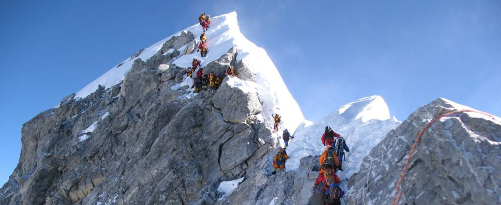 Mount everest expedition in Nepal